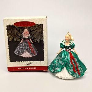 Hallmark Keepsake 1995 Holiday Barbie Ornament